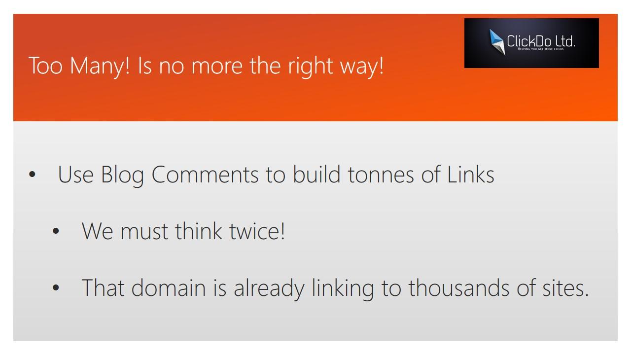 Blog Commenting for SEO in 2016 - Slide (3)