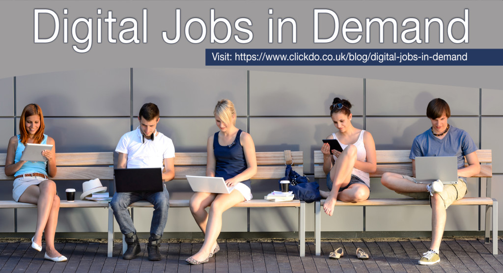 Types of highly demanded digital jobs and career paths in London's digital economy