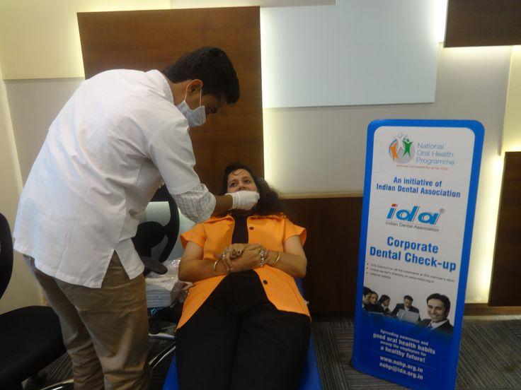 corporate-dental-checkup