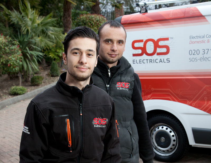 SOS Electricals: Optimization for 24 hour London electricians
